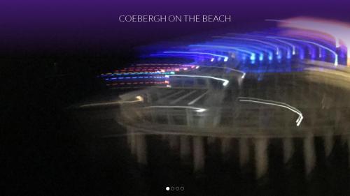 Coebergh on the beach