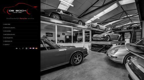 Porsche garage De Bock