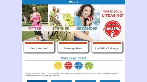Weerter Lifestyle Challenge